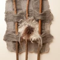 Annette Mai - Filz Kunst Werke - Collage
