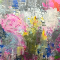 Annette Mai - Filz Kunst Werke - Malerei